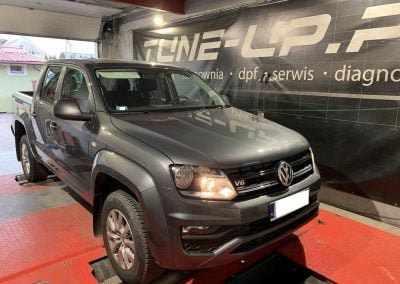 VW AMAROK 3.0TDI CHIPTUNING + 110KM + 150Nm